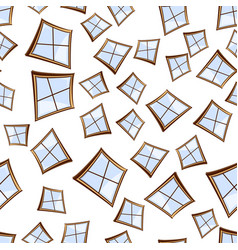 windows seamless background vector image