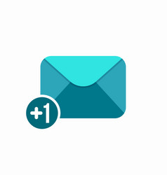 envelope letter mail new email read icon vector image