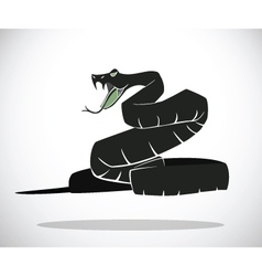 snake A vector image vector image