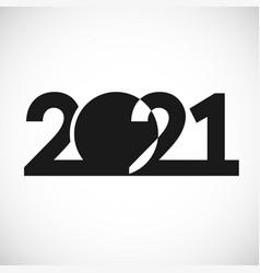 2021 straight simple ball vector