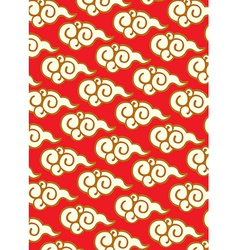 Abstract oriental design vector image