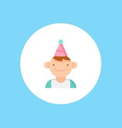 Birthday boy icon sign symbol vector