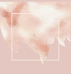 Elegant background with rose gold for sales blogs vector