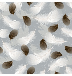 Feather seamless vector
