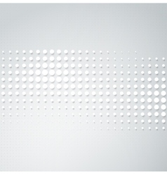 halftone dots vector image