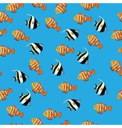 Moorish Idol fish vector