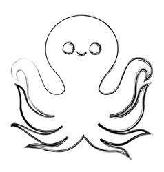 Octupus icon image vector