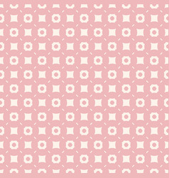 Pink geometric texture abstract seamless pattern vector