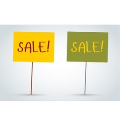 sale off board banners vector image