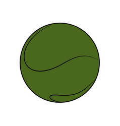 Sport tennis ball vector