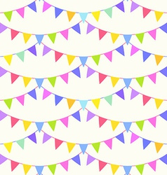 Garland pattern vector image