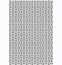 Rectangle square block pattern vector image vector image