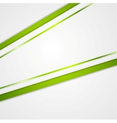 Abstract green and grey corporate background vector