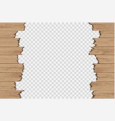 Broken wood panels vector