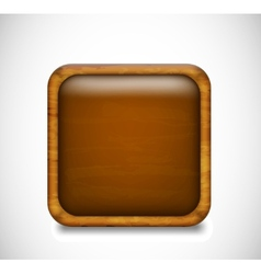 Brown app icon vector image