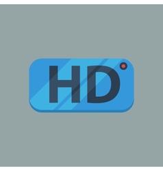 HD Flat icon vector