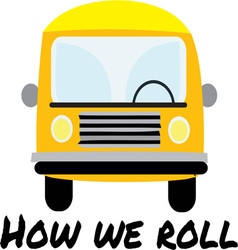 How We Roll vector