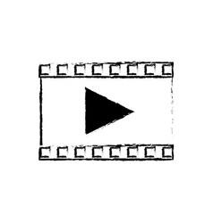 Play video multimedia music web icon vector