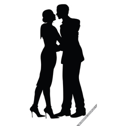 romantic couples vector image