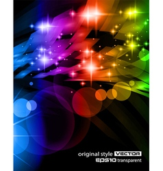 abstract space scenary vector image vector image
