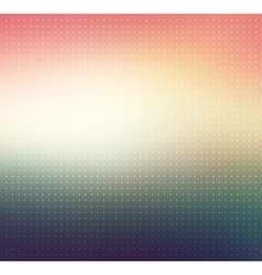Colorful gradient Dotted background vector image vector image