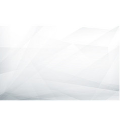 Abstract white and grey futuristic background vector