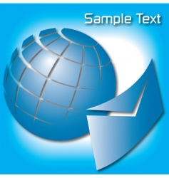 earth email vector image