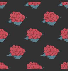 Grape seamless pattern vector