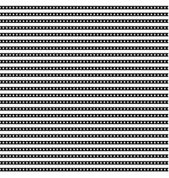 Horizontal arrangement geometric shapes vector