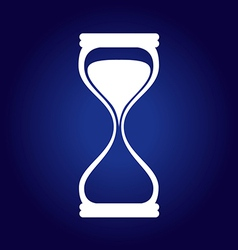 Hourglass Blue vector