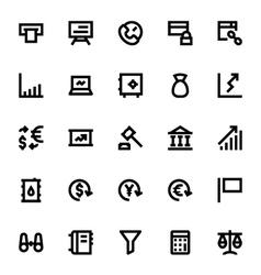 Market and Economics Icons 1 vector image
