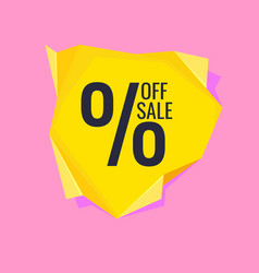 Original poster for discount abstract polygonal vector