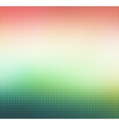 Pink and green gradient Dotted background vector