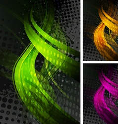 Bright backdrops vector image vector image