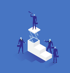 leadership concept in flat vector image