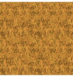 Withered grass camouflage seamless pattern vector image vector image