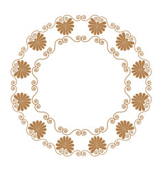 ancient greek ornament and vector image