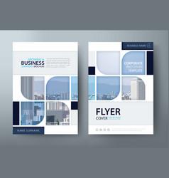 brochure flyer book cover templates vector image