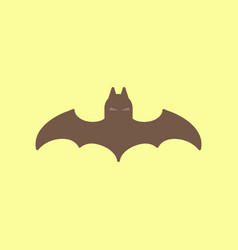 Flat icon on background halloween vector