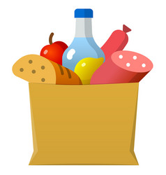 Food pack icon vector