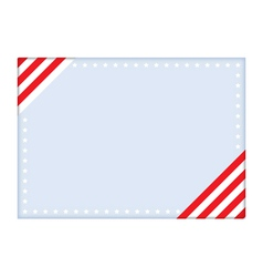 Independence Day postcard vector