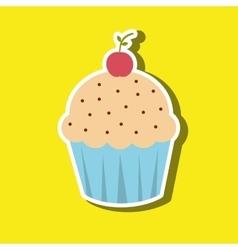 Sweet cakes design vector