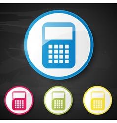 Web element Calculator vector image vector image