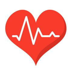 pulse icon vector image