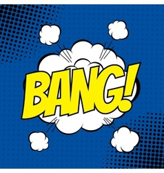 Bang comic vector