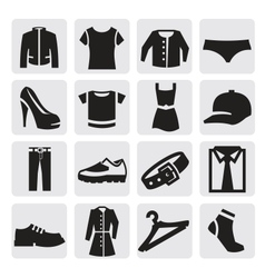 Clothes Icon vector image