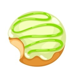 Donuts isolated vector image