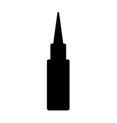 Isolated gun bullet icon vector