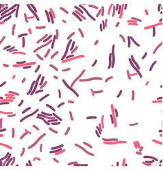 Lactobacillus acidophilus seamless pattern vector