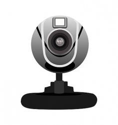 realistic illustration of web camera vector image